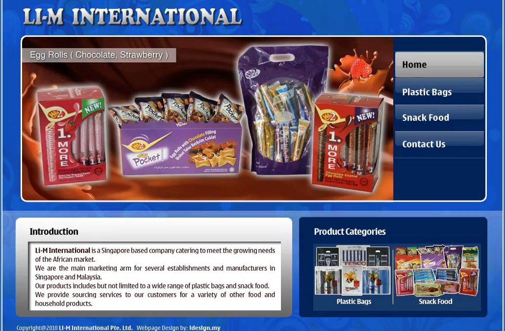 LI-M INTERNATIONAL 包装印刷公司