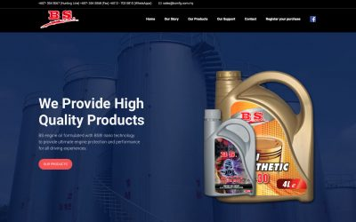 BS Manufacturing 汽车机油网站
