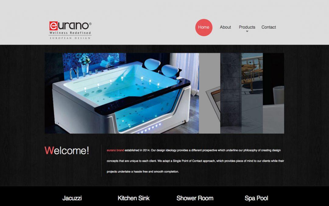 EURANO 浴室用品网站