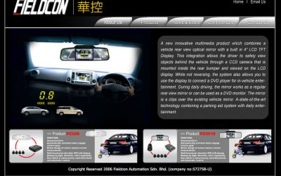 Fieldcon 汽车望后镜网站 (2006年)