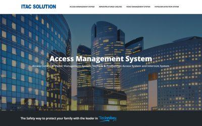 ITAC SOLUTION 安全系统网站