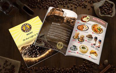 Kluang Kopi Menu 居銮咖啡餐厅菜单