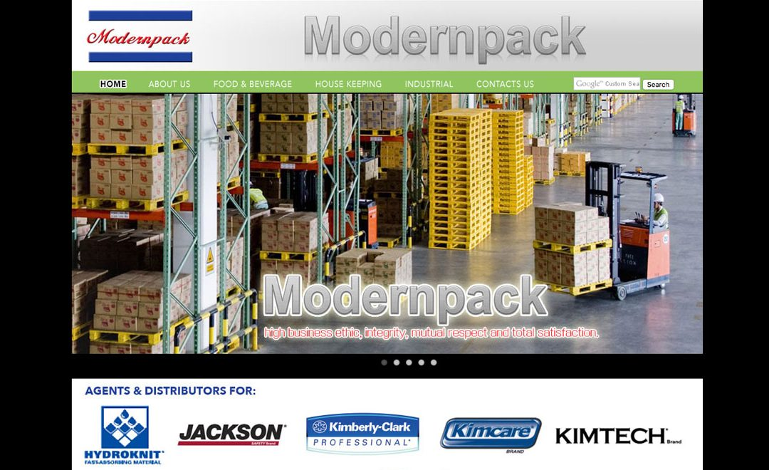 Modernpack 现代企业公司网站