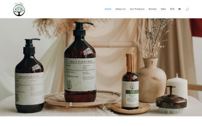 Viim Bilios 护发产品网站