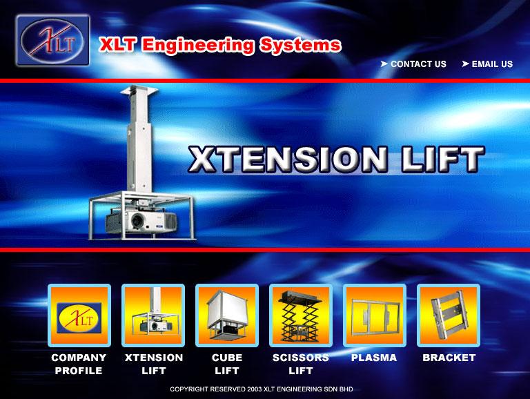 XLT 电视支架网站 (2003年)